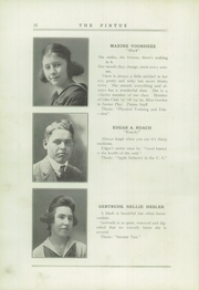 Page 16, 1920 Edition, Veedersburg High School - Pintus Yearbook (Veedersburg, IN) online yearbook collection