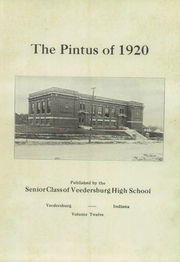 Page 5, 1920 Edition, Veedersburg High School - Pintus Yearbook (Veedersburg, IN) online yearbook collection