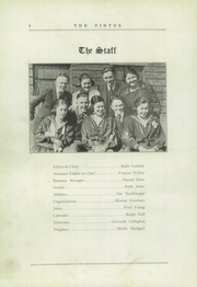 Page 8, 1920 Edition, Veedersburg High School - Pintus Yearbook (Veedersburg, IN) online yearbook collection