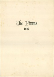 Page 5, 1935 Edition, Veedersburg High School - Pintus Yearbook (Veedersburg, IN) online yearbook collection