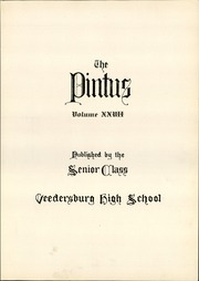 Page 9, 1935 Edition, Veedersburg High School - Pintus Yearbook (Veedersburg, IN) online yearbook collection