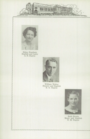 Page 12, 1939 Edition, Veedersburg High School - Pintus Yearbook (Veedersburg, IN) online yearbook collection