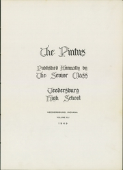 Page 5, 1949 Edition, Veedersburg High School - Pintus Yearbook (Veedersburg, IN) online yearbook collection