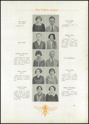 Page 13, 1929 Edition, Jasonville High School - Yellow Jacket Yearbook (Jasonville, IN) online yearbook collection