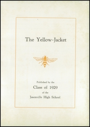 Page 5, 1929 Edition, Jasonville High School - Yellow Jacket Yearbook (Jasonville, IN) online yearbook collection