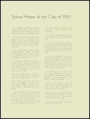 Page 14, 1950 Edition, Jasonville High School - Yellow Jacket Yearbook (Jasonville, IN) online yearbook collection