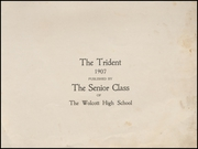 Page 3, 1907 Edition, Wolcott High School - Trident Yearbook (Wolcott, IN) online yearbook collection