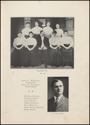 Page 11, 1908 Edition, Wolcott High School - Trident Yearbook (Wolcott, IN) online yearbook collection