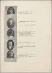Page 17, 1908 Edition, Wolcott High School - Trident Yearbook (Wolcott, IN) online yearbook collection