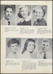 Page 12, 1954 Edition, Wolcott High School - Trident Yearbook (Wolcott, IN) online yearbook collection