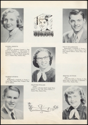 Page 16, 1954 Edition, Wolcott High School - Trident Yearbook (Wolcott, IN) online yearbook collection