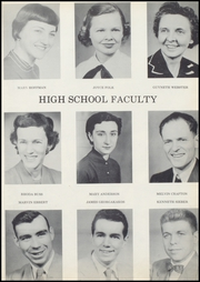 Page 9, 1954 Edition, Wolcott High School - Trident Yearbook (Wolcott, IN) online yearbook collection