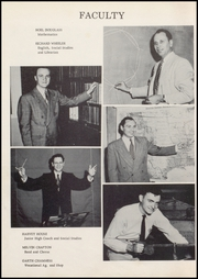 Page 10, 1955 Edition, Wolcott High School - Trident Yearbook (Wolcott, IN) online yearbook collection