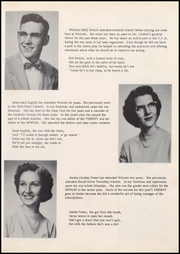 Page 17, 1955 Edition, Wolcott High School - Trident Yearbook (Wolcott, IN) online yearbook collection