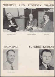 Page 8, 1955 Edition, Wolcott High School - Trident Yearbook (Wolcott, IN) online yearbook collection