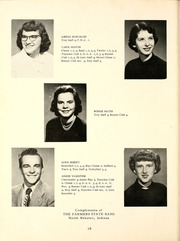 Page 14, 1953 Edition, North Webster High School - Troy Yearbook (North Webster, IN) online yearbook collection