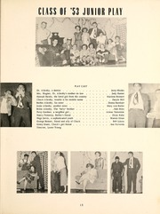 Page 17, 1953 Edition, North Webster High School - Troy Yearbook (North Webster, IN) online yearbook collection