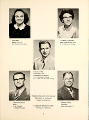 Page 9, 1953 Edition, North Webster High School - Troy Yearbook (North Webster, IN) online yearbook collection
