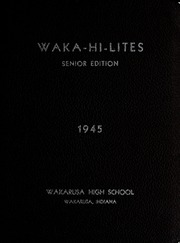 Page 5, 1945 Edition, Wakarusa High School - Waka Memories Yearbook (Wakarusa, IN) online yearbook collection