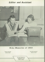 Page 10, 1954 Edition, Wakarusa High School - Waka Memories Yearbook (Wakarusa, IN) online yearbook collection