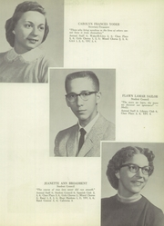 Page 19, 1957 Edition, Wakarusa High School - Waka Memories Yearbook (Wakarusa, IN) online yearbook collection