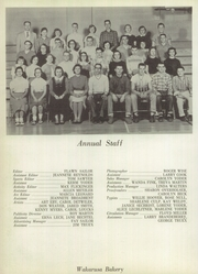 Page 76, 1957 Edition, Wakarusa High School - Waka Memories Yearbook (Wakarusa, IN) online yearbook collection