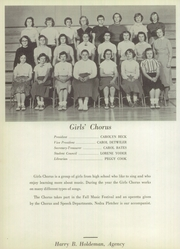 Page 82, 1957 Edition, Wakarusa High School - Waka Memories Yearbook (Wakarusa, IN) online yearbook collection