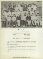 Page 86, 1957 Edition, Wakarusa High School - Waka Memories Yearbook (Wakarusa, IN) online yearbook collection