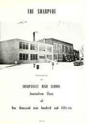 Page 5, 1956 Edition, Sharpsville High School - Sharpvue Yearbook (Sharpsville, IN) online yearbook collection