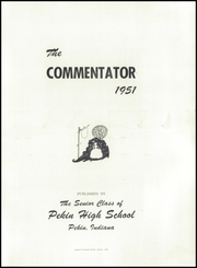 Page 5, 1951 Edition, Pekin High School - Commentator Yearbook (Pekin, IN) online yearbook collection