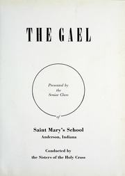 Page 5, 1953 Edition, St Marys High School - Gael Yearbook (Anderson, IN) online yearbook collection