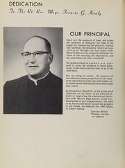 Page 6, 1960 Edition, St Marys High School - Gael Yearbook (Anderson, IN) online yearbook collection