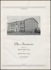 Page 9, 1946 Edition, Windfall High School - Anemone Yearbook (Windfall, IN) online yearbook collection