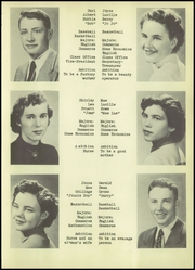 Page 17, 1954 Edition, Union Township High School - Eagle Yearbook (Bellmore, IN) online yearbook collection
