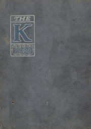 Kent High School - K Yearbook (Kentland, IN) online yearbook collection, 1920 Edition, Page 1