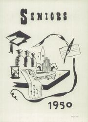 Page 13, 1950 Edition, Kent High School - K Yearbook (Kentland, IN) online yearbook collection