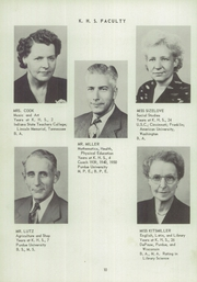 Page 14, 1951 Edition, Kent High School - K Yearbook (Kentland, IN) online yearbook collection