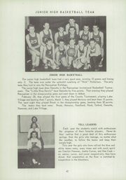 Page 46, 1951 Edition, Kent High School - K Yearbook (Kentland, IN) online yearbook collection