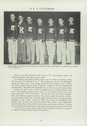 Page 49, 1951 Edition, Kent High School - K Yearbook (Kentland, IN) online yearbook collection