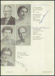 Page 12, 1957 Edition, New Paris High School - Parisian Yearbook (New Paris, IN) online yearbook collection