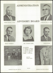 Page 10, 1958 Edition, New Paris High School - Parisian Yearbook (New Paris, IN) online yearbook collection