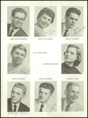 Page 16, 1959 Edition, New Paris High School - Parisian Yearbook (New Paris, IN) online yearbook collection