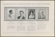 Page 13, 1914 Edition, Greenfield High School - Camaraderie Yearbook (Greenfield, IN) online yearbook collection