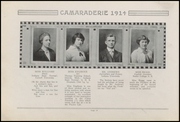 Page 14, 1914 Edition, Greenfield High School - Camaraderie Yearbook (Greenfield, IN) online yearbook collection
