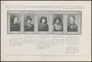 Page 17, 1914 Edition, Greenfield High School - Camaraderie Yearbook (Greenfield, IN) online yearbook collection