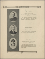 Page 13, 1917 Edition, Greenfield High School - Camaraderie Yearbook (Greenfield, IN) online yearbook collection
