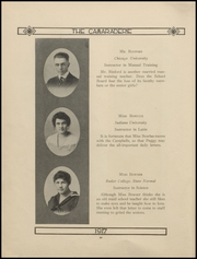 Page 14, 1917 Edition, Greenfield High School - Camaraderie Yearbook (Greenfield, IN) online yearbook collection