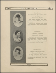 Page 16, 1917 Edition, Greenfield High School - Camaraderie Yearbook (Greenfield, IN) online yearbook collection