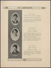 Page 17, 1917 Edition, Greenfield High School - Camaraderie Yearbook (Greenfield, IN) online yearbook collection