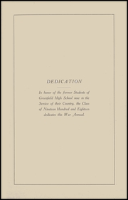 Page 3, 1918 Edition, Greenfield High School - Camaraderie Yearbook (Greenfield, IN) online yearbook collection